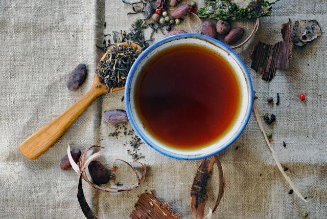 czerwona herbata a odchudzanie nazywana herbatą smoka w Chinach