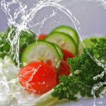 warzywa, ogórek, pomidor, sałata