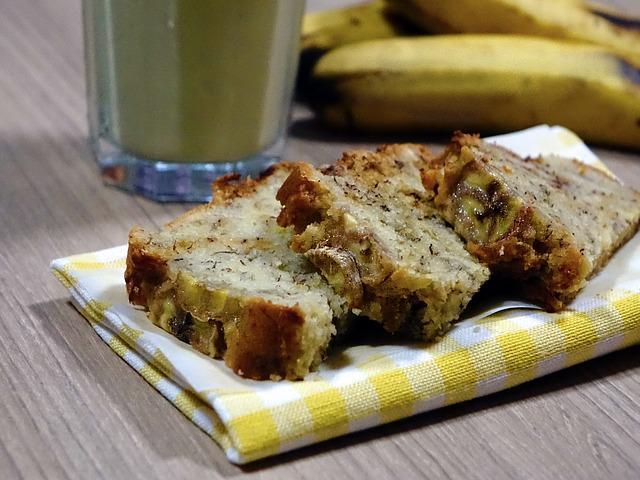 Ciasto bananowe z mąki kokosowej