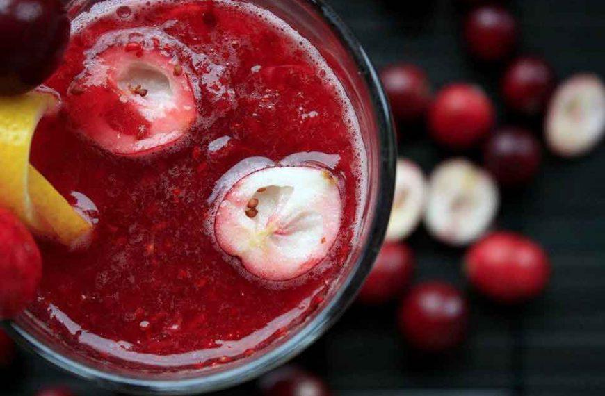Dieta oxy shake żurawinowy przepis