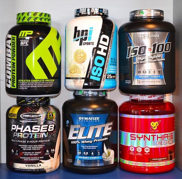 sześć rodzajów odżywek białkowych które warto brać