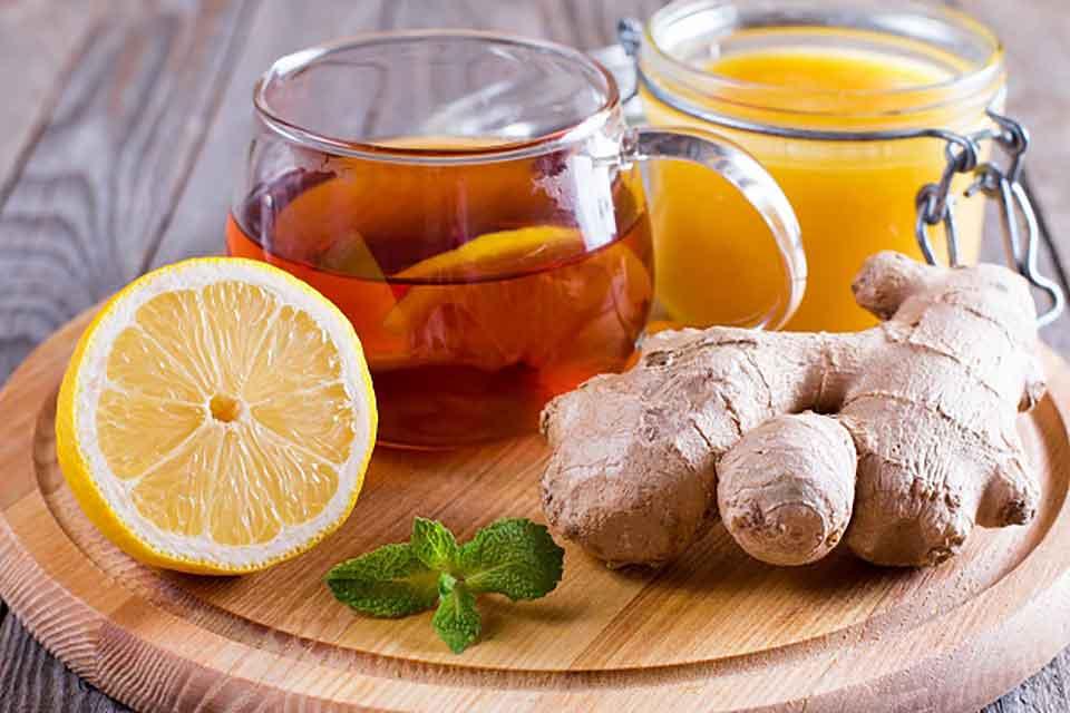Herbata z imbirem pomaga na odchudzanie i przeziębienie