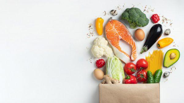 Przykładowe produkty spożywane podczas stosowania diety keto